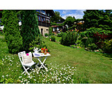 Garden, Garden Furniture, Country Style