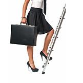 Geschäftsfrau, Karriere, Aufstieg