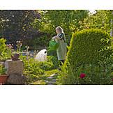 Garden, Gardening, Watering