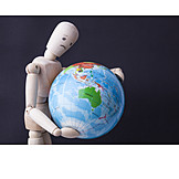 Environment protection, Globe, Globalization