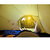 Summer, Tent, Camping, Camping