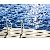Lake, Summer, Lake