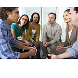 Meeting & Conversation, Group, Amuse, Support Group