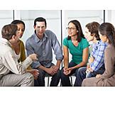 Besprechung & Unterhaltung, Gruppe, Fortbildung, Selbsterfahrung