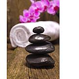 Wellness & Relax, Balance, Spa, Warmsteinmassage, Basaltstein