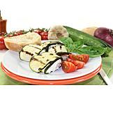 Appetizer, Appetizers, Zucchini rolls