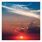 Twilight, Sky, Sunset, Sky Only