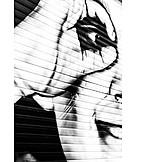 Watching, Graffiti, Spying, Secret