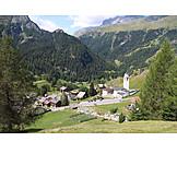 Village, Graubunden canton