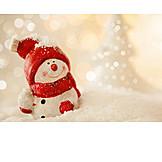 Christmas, Christmas Decoration, Snowman