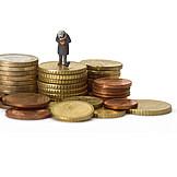 Geld, Kapital, Rente