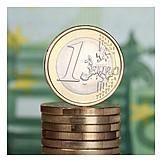 Money, Euro, 1 Euro