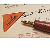 Document, Sending, Letter