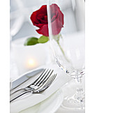 Glass, Table decoration, Wine glass, Cutlery