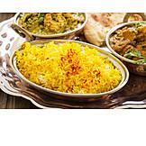Oriental Cuisine, Rice Dish, Tahchin