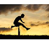 Sports & Fitness, Jump, Hurdling