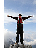 Success & Achievement, Target, Mountaineering, Mountain Top, Freedom & Independence