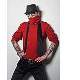 Man, Individuality & Uniqueness, Fashion, Style