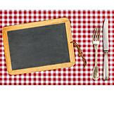 Textfreiraum, Gastronomie, Tafel, Menü