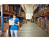 Logistics, Warehouse, Mail order company