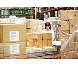 Logistics, Warehouse, Waren, Warehouse Clerk, Mail Order Company