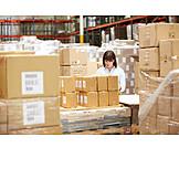 Logistics, Warehouse, Waren, Warehouse Clerk, Mail Order Company