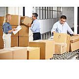 Meeting & Conversation, Logistics, Warehouse Clerk, Warehouse Clerk, Mail Order Company