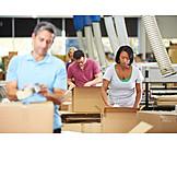 Logistics, Packing, Waren, Warehouse Clerk, Mail Order Company