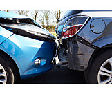 Car, Road Accident, Rear End Collision, Accident