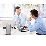 Business, Büro & Office, Kollegen, Büroangestellter