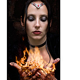 Fire, Witch, Magic, Role Play