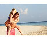 Couple, Holiday & Travel, Beach Holiday