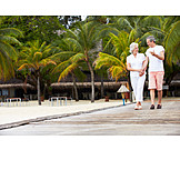 Holiday & Travel, Walk, Older Couple