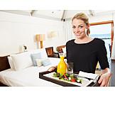 Hotel, Dienstleistung, Bedienung, Servicepersonal, Zimmerservice