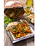 Appetizer, Mediterranean cuisine, Soup