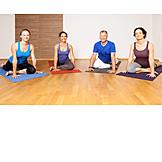 Aktiver Senior, Vitalität, Yoga