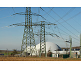Power station, Nuclear power station, Atomic energy, Neckarwestheim