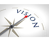 Target, Direction, Compass, Strategy, Vision