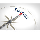Direction, Success, Compass, Strategy, Successful