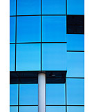 Architecture, Close Up, Glass Facade