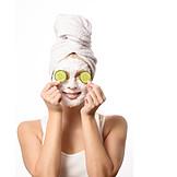 Beauty & Cosmetics, Facial Mask, Anti-aging, Cucumber Mask