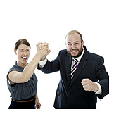 Erfolg & Leistung, Teamarbeit, Handschlag