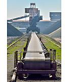Industry, Harbour, Conveyor Belt, Conveyor Belt