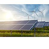 Erneuerbare Energien, Solaranlage, Solarpark