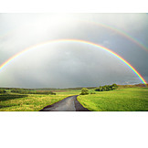 Nature, Environment, Weather, Rainbow