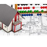 Kalkulation, Hausbau, Baufinanzierung, Baukosten