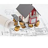 Hausbau, Bausparvertrag, Baufinanzierung, Baukosten