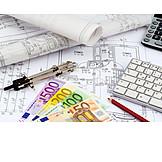 Hausbau, Bauplan, Architekturbüro, Baufinanzierung