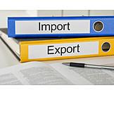 Handel, Import, Export