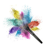 Beauty & Cosmetics, Multi Colored, Cosmetic Brushes, Pigments